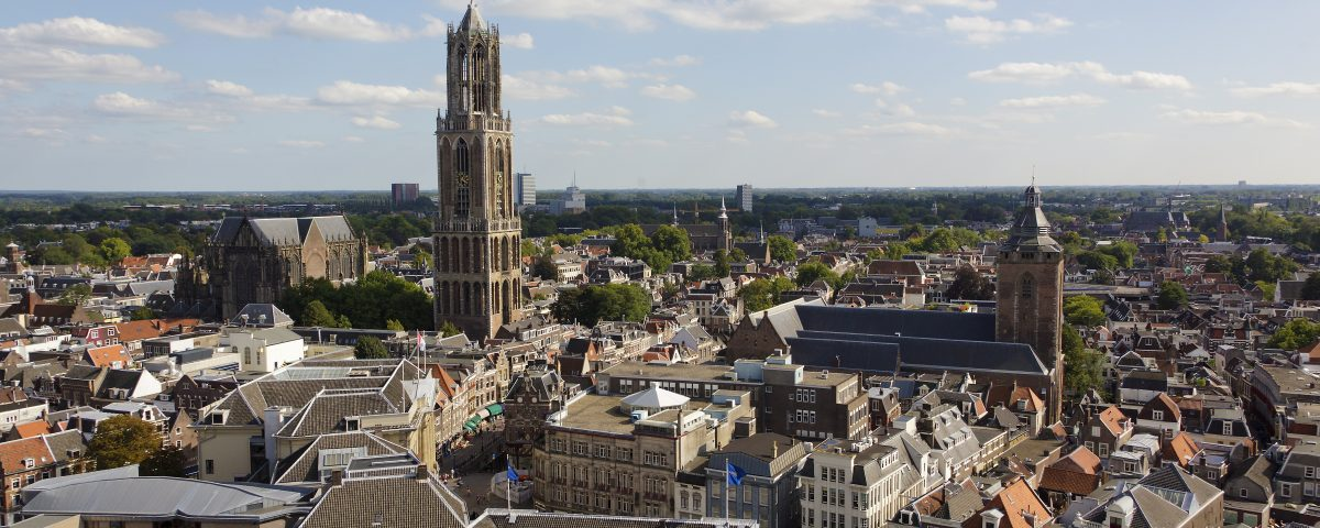 Netherlands, Utrecht (city), View from Neude tower building